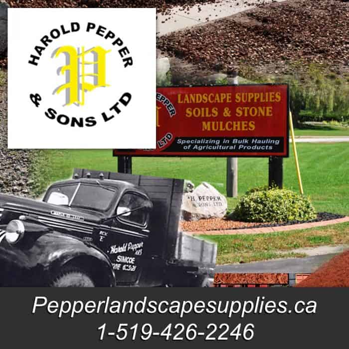 Pepper Landscape Supplies Simcoe