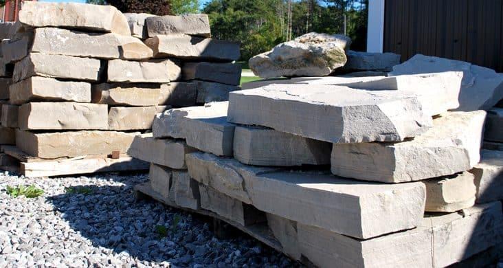 wall stone landscape rocks